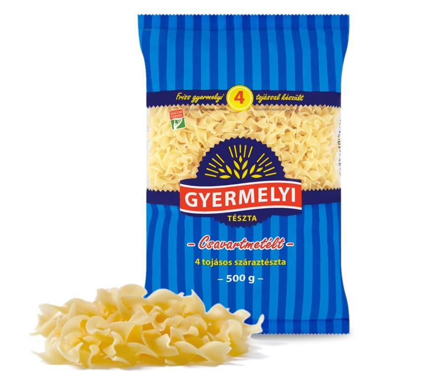 Paste tăiţei răsuciţi cu 4 ouă Gyermelyi