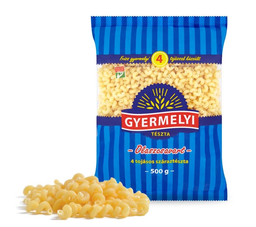 Paste răsucite cu 4 ouă Gyermelyi