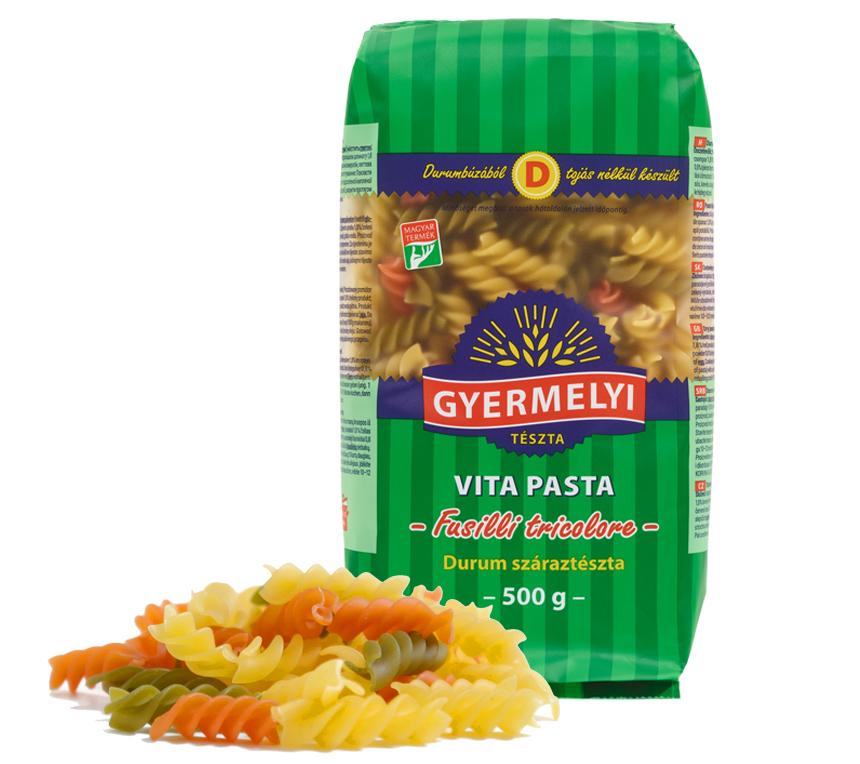 Spirale tricolore Vita Pasta Gyermelyi