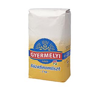 Făină albă de grâu Gyermelyi BL55 2 kg